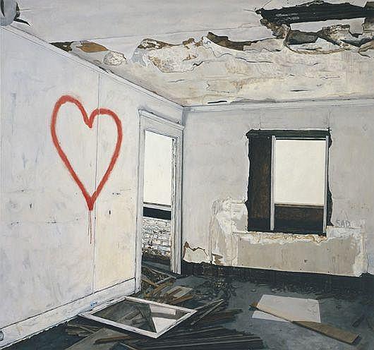 Contemporary Art: KRISTIN CALABRESE Halcyon Daze,