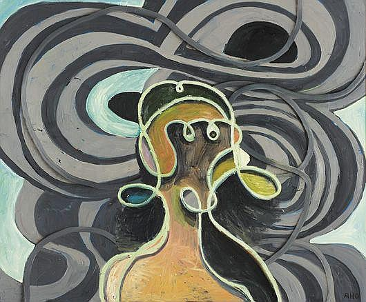 Contemporary Art: ANTON HENNING Portrait No 152,