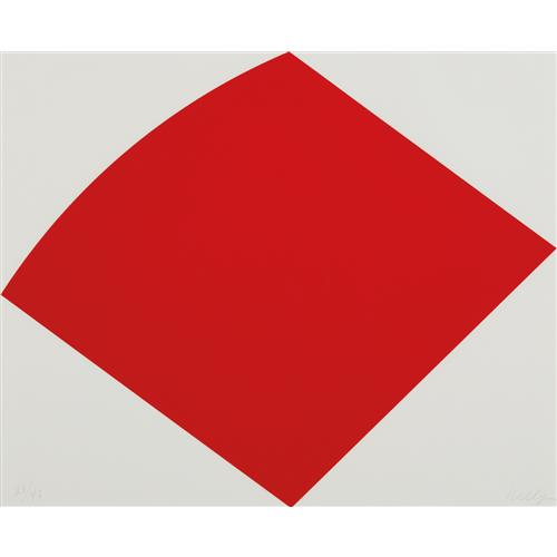 ELLSWORTH KELLY - Red Curve, 1996-97