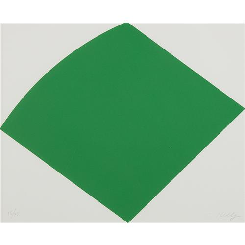 ELLSWORTH KELLY - Green Curve, 1996