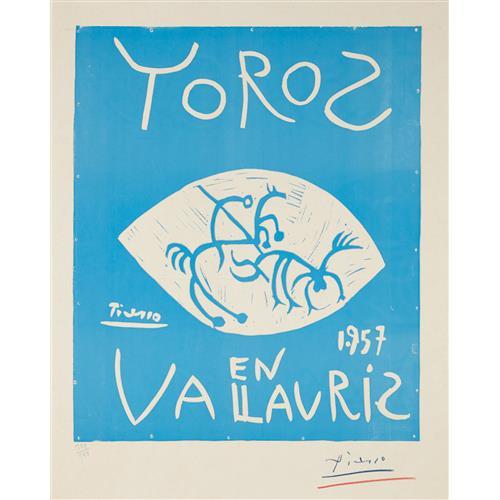 PABLO PICASSO - Toros (Bulls), 1957