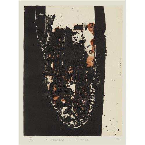 ALBERTO BURRI - Combustione, 1963-64