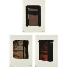 PIERRE SOULAGES - Sur le mur d'en face (On the Opposite Wall), 1979