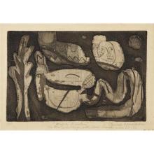 LOUISE NEVELSON - Magic Garden, 1953-55