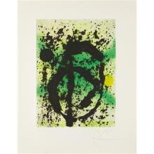 JOAN MIRÓ - Regne vegetal (United Plant Kingdom), 1968