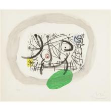 JOAN MIRÓ - Fissures: one plate, 1969