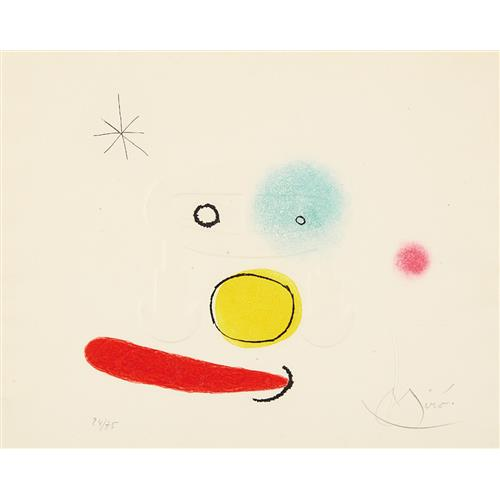 JOAN MIRÓ - Le bijou (The Jewel), 1966