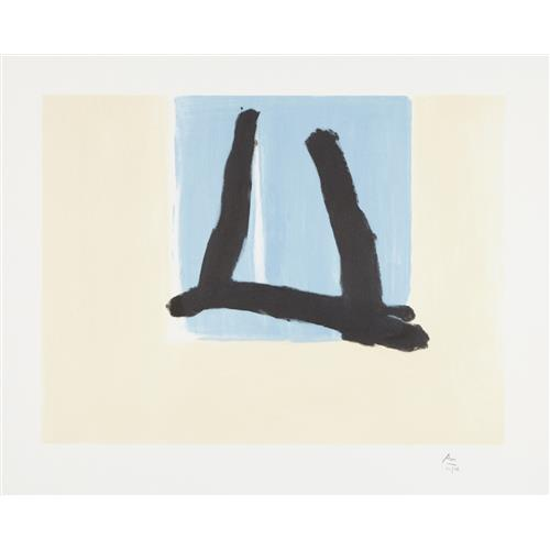 ROBERT MOTHERWELL - Summer Sign, 1990