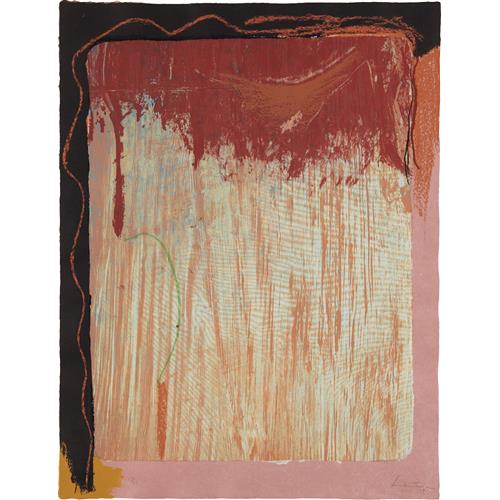 HELEN FRANKENTHALER - Tribal Sign, 1987