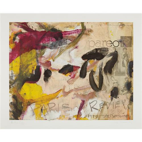WILLEM DE KOONING - Paris Review, 1979