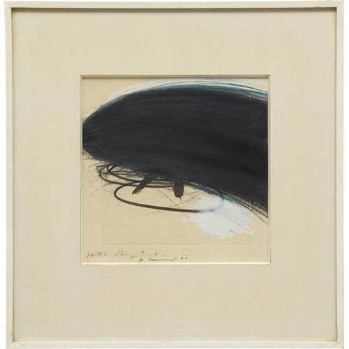 ARNULF RAINER - Miro Übermalt, 1965