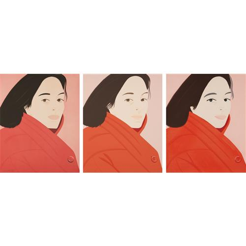 ALEX KATZ - Brisk Day Series, 1990
