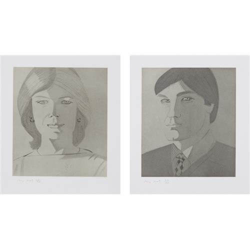 ALEX KATZ - Give Me Tomorrow: two plates, 1983