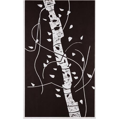 ALEX KATZ - Large Birch, 2005