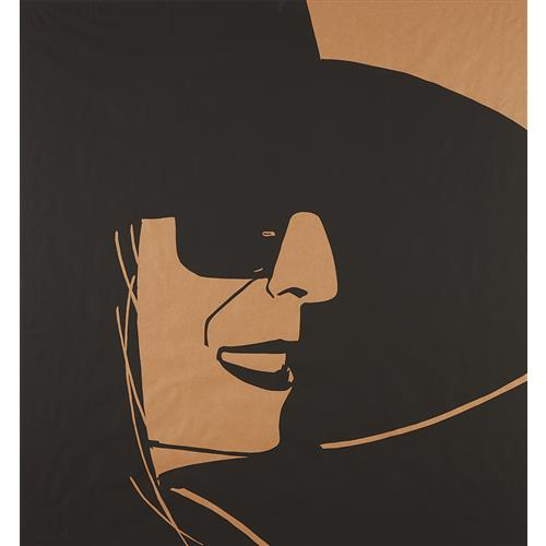 ALEX KATZ - Large Black Hat Ada 2, 2013