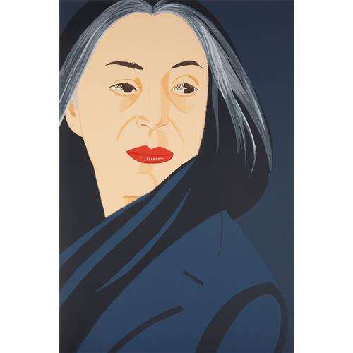 ALEX KATZ - Black Scarf, 1996
