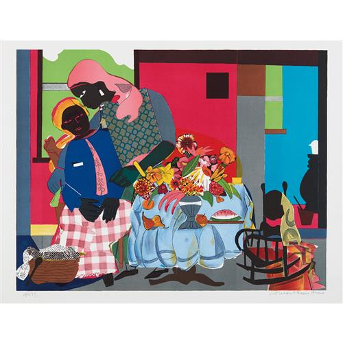 ROMARE BEARDEN - Morning, 1979