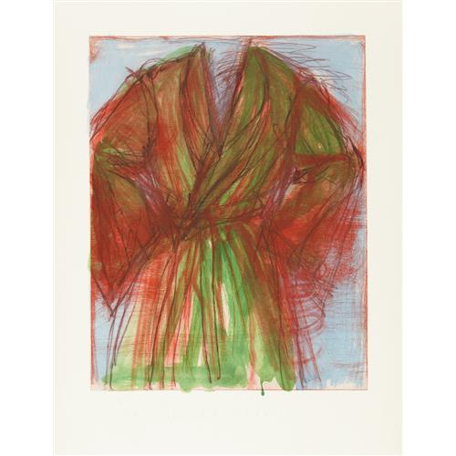 JIM DINE - Printing Outdoors, 1980