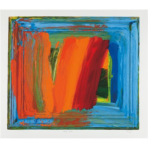 HOWARD HODGKIN - Bamboo, 2000