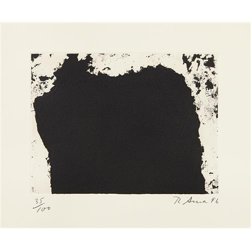 RICHARD SERRA - Untitled, 1996