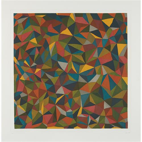 SOL LEWITT - Complex Forms: Plate 1, 1990
