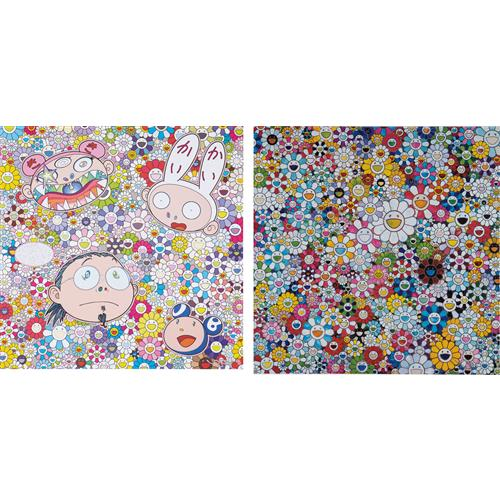 TAKASHI MURAKAMI - When I Close My Eyes I See Shangri-la; and The Creative Mind, 2012-2015