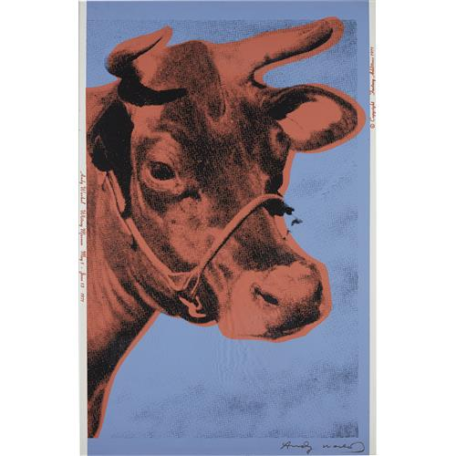 ANDY WARHOL - Cow, 1971