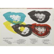 ANDY WARHOL - I Love Your Kiss Forever Forever, 1964