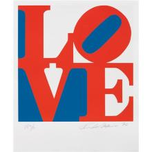 ROBERT INDIANA - Love, from Book of Love, 1996