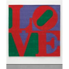 ROBERT INDIANA - Chosen Love (Philadelphia), 1995