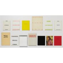 ED RUSCHA - A collection of thirteen artist's books, 1964-78