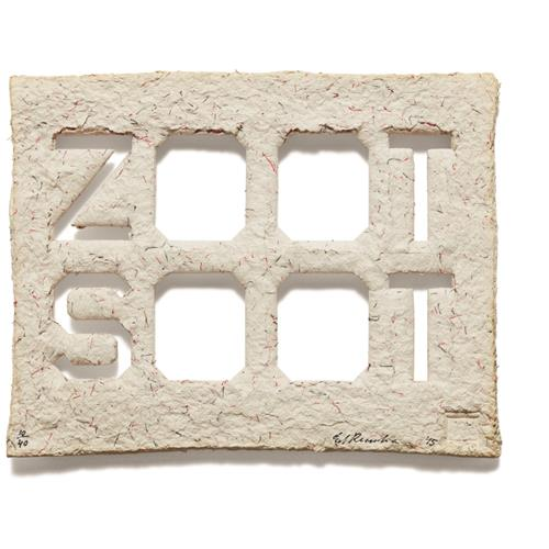 ED RUSCHA - Zoot Soot, 2015