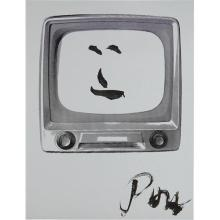 NAM JUNE PAIK - Smiling Face, 1986