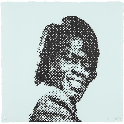 GLENN LIGON - Self Portrait at Nine Years Old (James Brown), 2008
