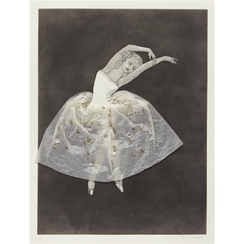 KIKI SMITH - Ballerina (stretching right), 2000