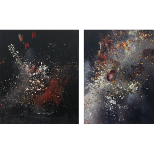 ORI GERSHT - Time After Time: Untitled 11; and Untitled 21, 2006-07