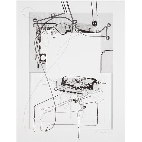 ALBERT OEHLEN - Untitled, 2009