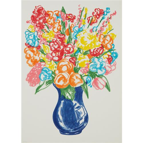 JEFF KOONS - Flowers, 2001