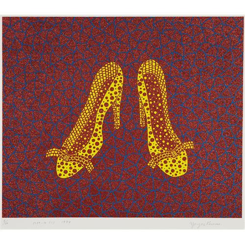 YAYOI KUSAMA - High Heels (1), 1999