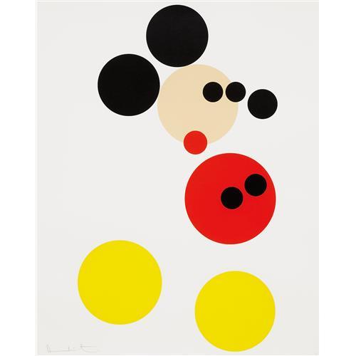DAMIEN HIRST - Mickey, 2014