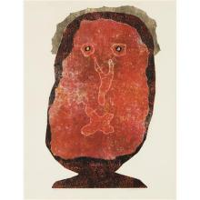 JEAN DUBUFFET - L'Enfle-chique II (The Inflated Snob II), 1961-63