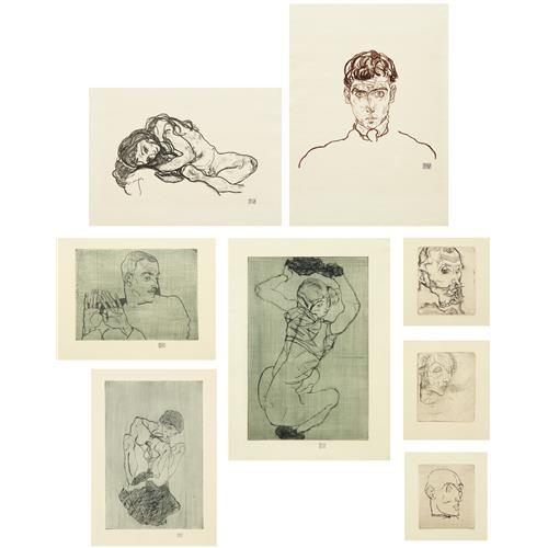 EGON SCHIELE - Das Graphische Werk von Egon Schiele, 1914-18/1922