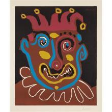 PABLO PICASSO - Le vieux roi (The Old King), 1963