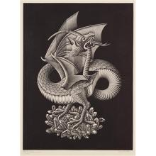M.C. ESCHER - Dragon, 1952