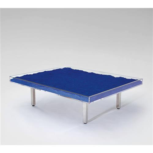 YVES KLEIN - Table Bleue, 1961