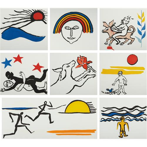 ALEXANDER CALDER - The Sacrilege of Alan Kent, 1976