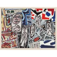 JEAN DUBUFFET - Faits mémorables II (Memorable Events II), 1978