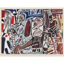 JEAN DUBUFFET - Faits mémorables III (Memorable Events III), 1978