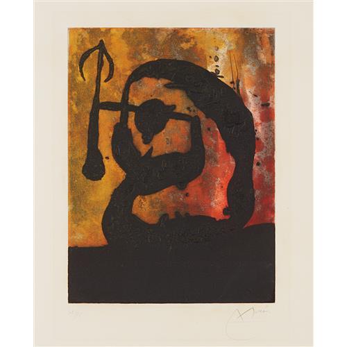 JOAN MIRÓ - Tête flèche (Arrowhead), 1968
