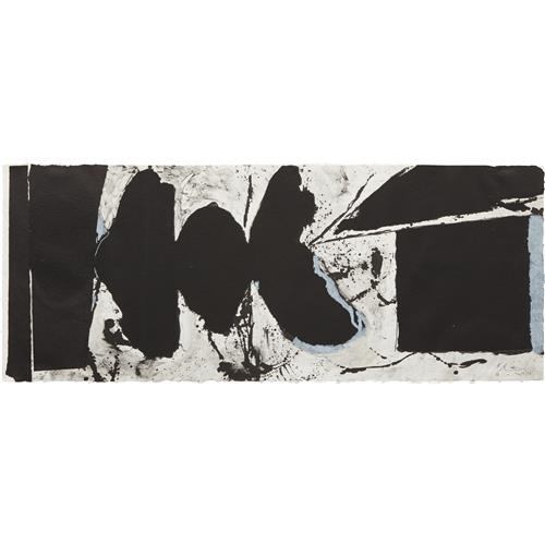 ROBERT MOTHERWELL - Elegy Black Black, 1983